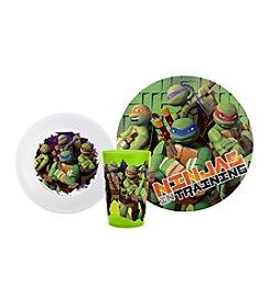 Zak Designs® Teenage Mutant Ninja Turtles 3-pc. Dinnerware Set