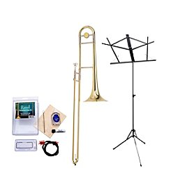 Ravel RTB102 Student Bb Tenor Trombone Bundle