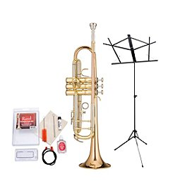 Ravel RTR102 Student Bb Trumpet Bundle