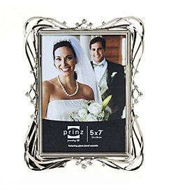 Prinz® Enchanted Silvertone And Jewel Glass Frame