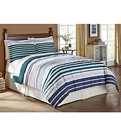LivingQuarters Aeden Microfiber Down-Alternative Comforter or Shams