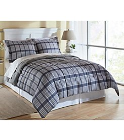 LivingQuarters Reversible Microfiber Down-Alternative William Comforter