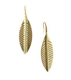 T.R.U™ Leaf Drop Earrings