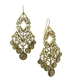 T.R.U™ Chandelier Chevron Earrings