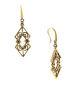 T.R.U™ Chevron Drop Earrings