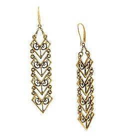 T.R.U™ Chevron Linear Earrings