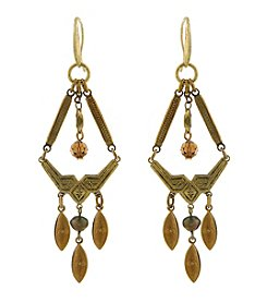T.R.U™ Arrowhead Copper Chandelier Earrings