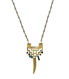 T.R.U™ Indonesian Arctic Pendant Tusk Necklace