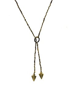 T.R.U™ Multifunctional Arrowhead Lariat Necklace