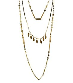 T.R.U™ Triple Chain Layered Necklace
