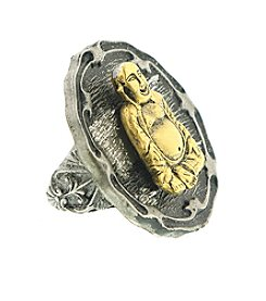 T.R.U™ Sitting Buddha Ring
