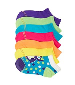 GOLD TOE® Girls' Assorted 6-pk. Neon Socks