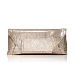 La Regale® Metallic Linen Clutch