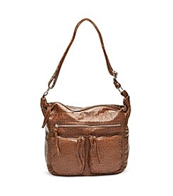 GAL Ostrich Washed Hobo