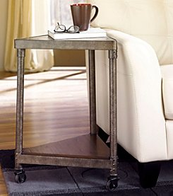 Hammary® Structure Wedge End Table