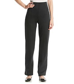 Gloria Vanderbilt® Lucy Ponte Pull On Straight Leg Pants