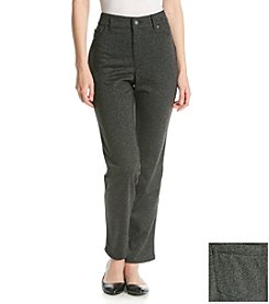 Gloria Vanderbilt® Holly Ponte Pant With Piping