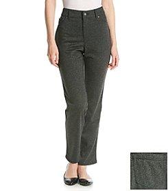 Gloria Vanderbilt® Holly Ponte Pant With Piping