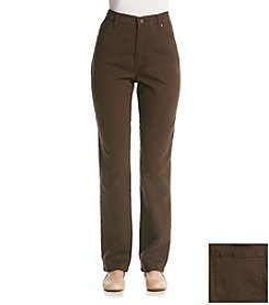 Gloria Vanderbilt® Amanda Twill Colored Bootcut Jeans
