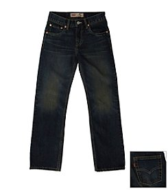 Levi's® 514™ Boys' 8-20Straight Denim Blue Jeans