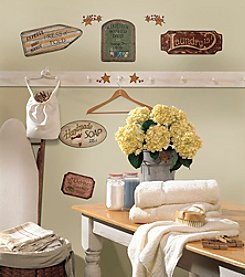 RoomMates Country Signs Peel & Stick Wall Decals