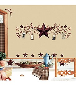 RoomMates Country Stars and Berries Peel & Stick Wall Decals