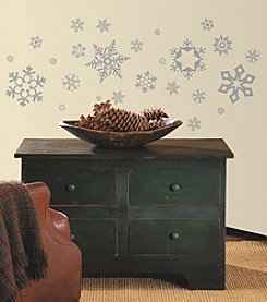 RoomMates Glitter Snowflakes Peel & Stick Wall Decals