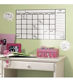 RoomMates Dry Erase Calendar Peel & Stick Wall Decal