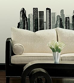 RoomMates Cityscape Peel & Stick Giant Wall Decal