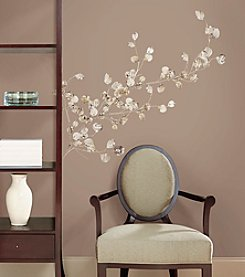 RoomMates Silver Dollar Branches P&S Giant Wall Decal