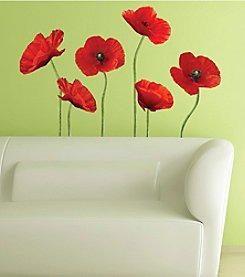 RoomMates Poppies at Play Peel & Stick Giant Wall Decals