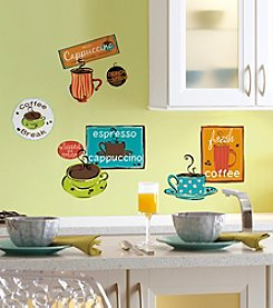 RoomMates Café Peel & Stick Wall Decals