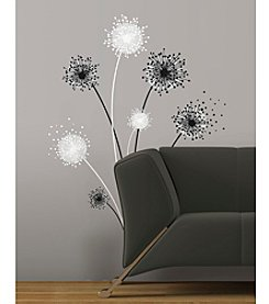 RoomMates Graphic Dandelion Peel & Stick Giant Wall Decals