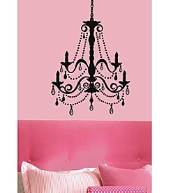 RoomMates Wall Decals Chandelier with Gems Peel & Stick Giant Wall Decal