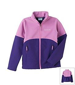 Columbia Girls' 7-16 Hyper Purple Brookview Soft Shell Jacket