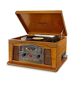 Crosley CR42C Oak Lancaster Entertainment Center