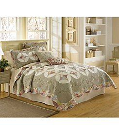 Nostalgia Home™ Victorian Crochet Quilt Bedding Collection