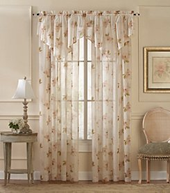 CHF Waterlilly Scroll Window Treatment