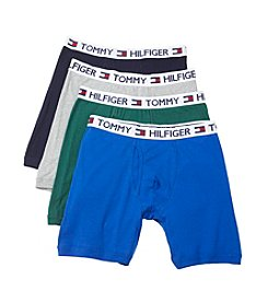 Tommy Hilfiger® Men's 4-Pack Classic Boxer Brief