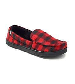 Isotoner® Men's Holiday Fleece Slippers