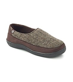 Isotoner® Men's Woodlands Knit Slip On Slipper