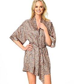 Jezebel® Satin Kimono - Cheetah