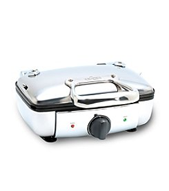 All-Clad® Stainless Steel 2-Square Belgian Waffle Maker