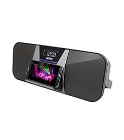Jensen Portable Bluetooth Speaker with Charging for All Smartphones
