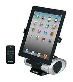 Jensen Rotating iPad® iPod® and iPhone® Docking Speaker with Remote