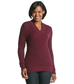 Studio Works® Crossover V-Neck Sweater