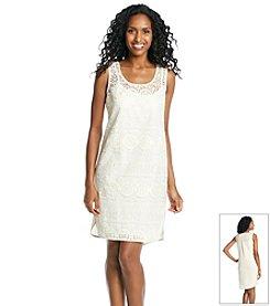 Ivy & Blu™ Crochet Lace Shift Dress