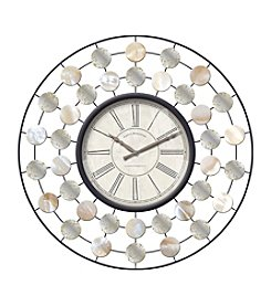 FirsTime Abalone Shasta Wall Clock
