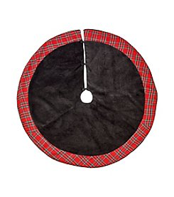 LivingQuarters Plaid Manor Tree Skirt