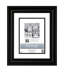 Timeless Frames® Lauren Portrait Black Tabletop Frame